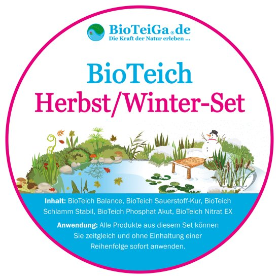BioTeich Herbst-Winter-Set